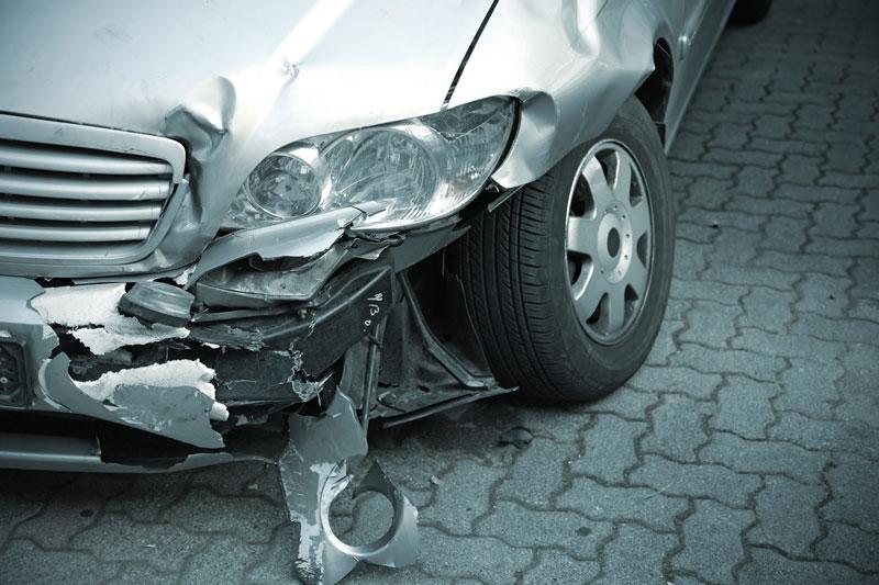 事故車の修理もおまかせください